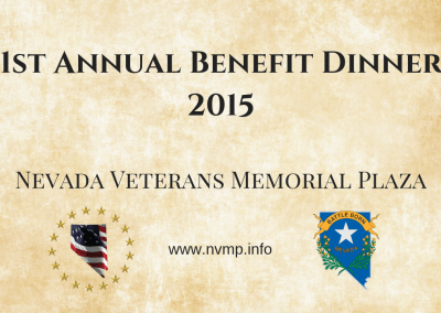 1st Annual Benefit Dinner